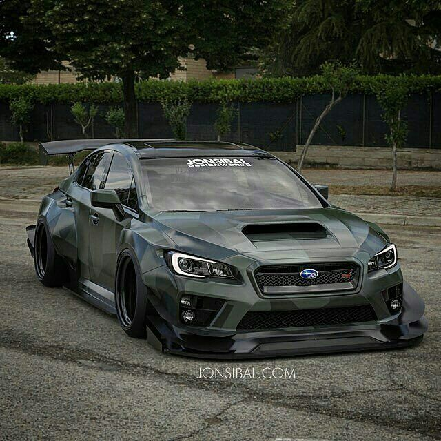 Subaru Impreza WRX STi : Photo