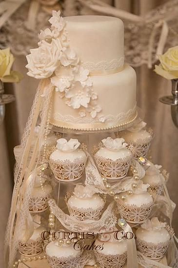 Towers & Display Cakes Gallery | Curtis & Co Cakes | Wedding Cakes