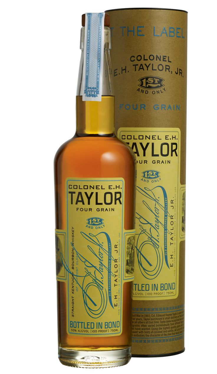 Buffalo Trace Distillery is continuing to honor Colonel E. H. Taylor, Jr. with its newest special release Bourbon. The Colonel E. H. Taylor Four Grain Kentucky Straight Bourbon Whiskey is a 100 proof, Bottled-In-Bond, small batch recipe Bourbon aged for 12 years. Made from a mash recipe using corn, rye, wheat, and malted barley, this