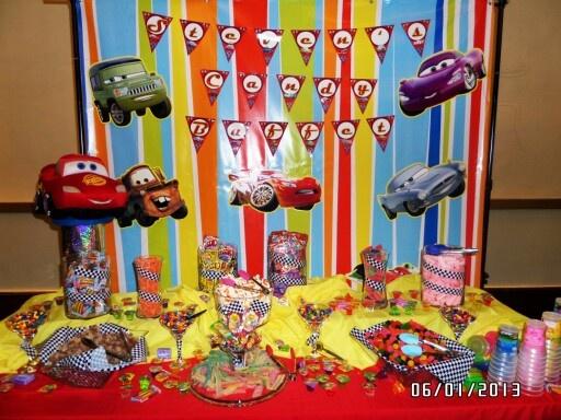 Cars themed candy Buff...