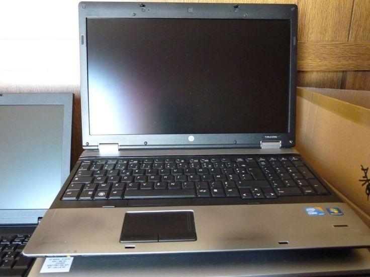 Portable 15.6 pouces Windows 7 Garanti 6mois Ordinateur portable occasion reconditionné testé HP 6550B. Ecran 15.6 Pouces HD Proc. i5-M540 à 2.53Ghz Ram 4Go DDR3 Disque 250 Go Sata Graphique intel GMA-HD Lecteur