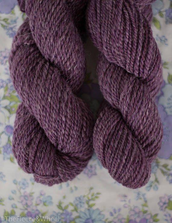 Hand Spun Yarn / Hand Spun Merino Wool / Baby alpaca /