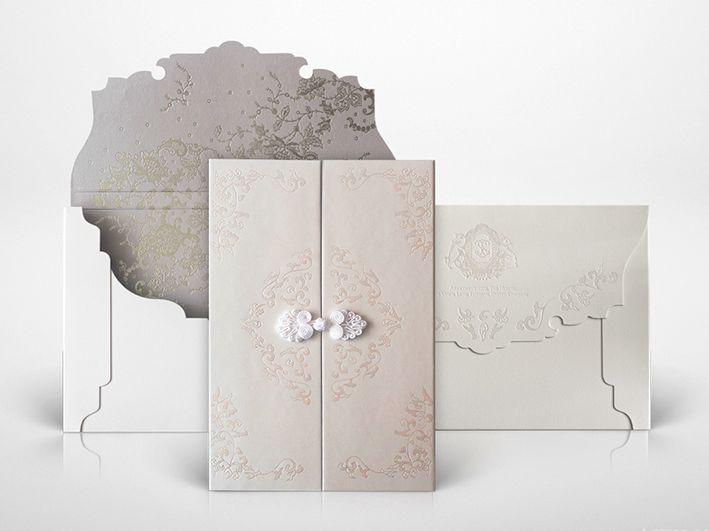 Convites de Casamento Sofisticados Modernos e de Luxo