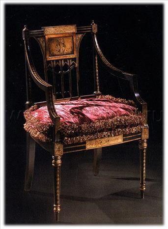 Стул EZIO BELLOTTI 5769, производитель EZIO BELLOTTI, коллекция PLATINUM – итальянская мебель на заказ «ARREDO»
