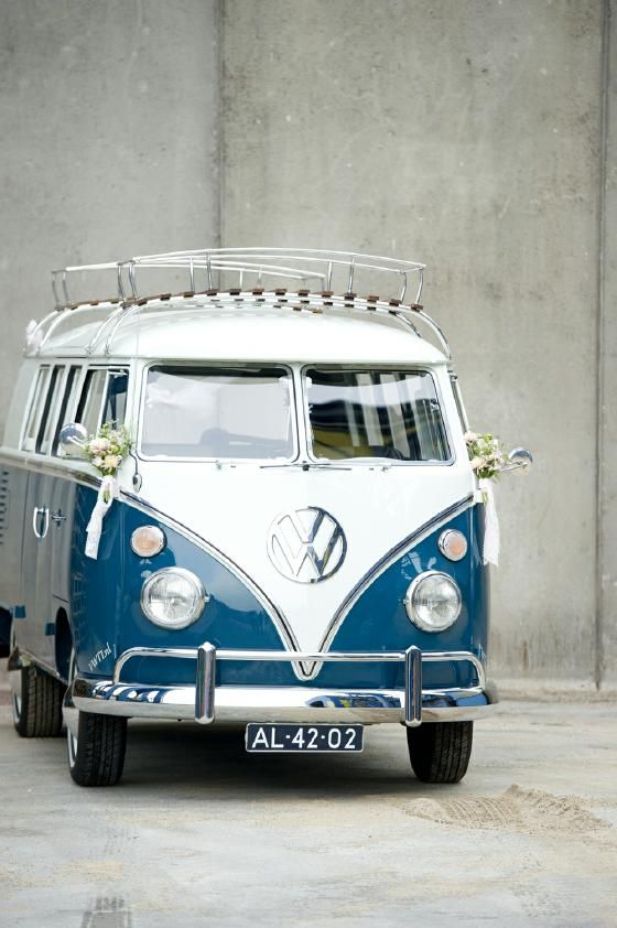 Stoer volkswagenbusje - www.wedspiration.com