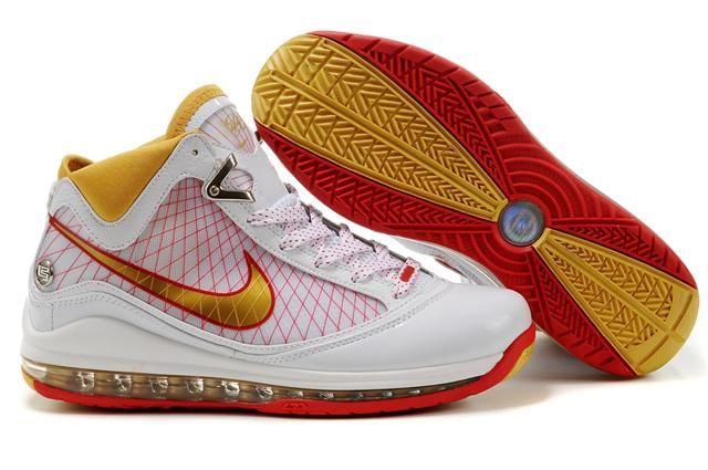 http://www.airfoamposite.com/nike-lebron-7-white-red-gold-p-315.html Only$87.06 #NIKE #LEBRON 7 WHITE RED GOLD #Free #Shipping!