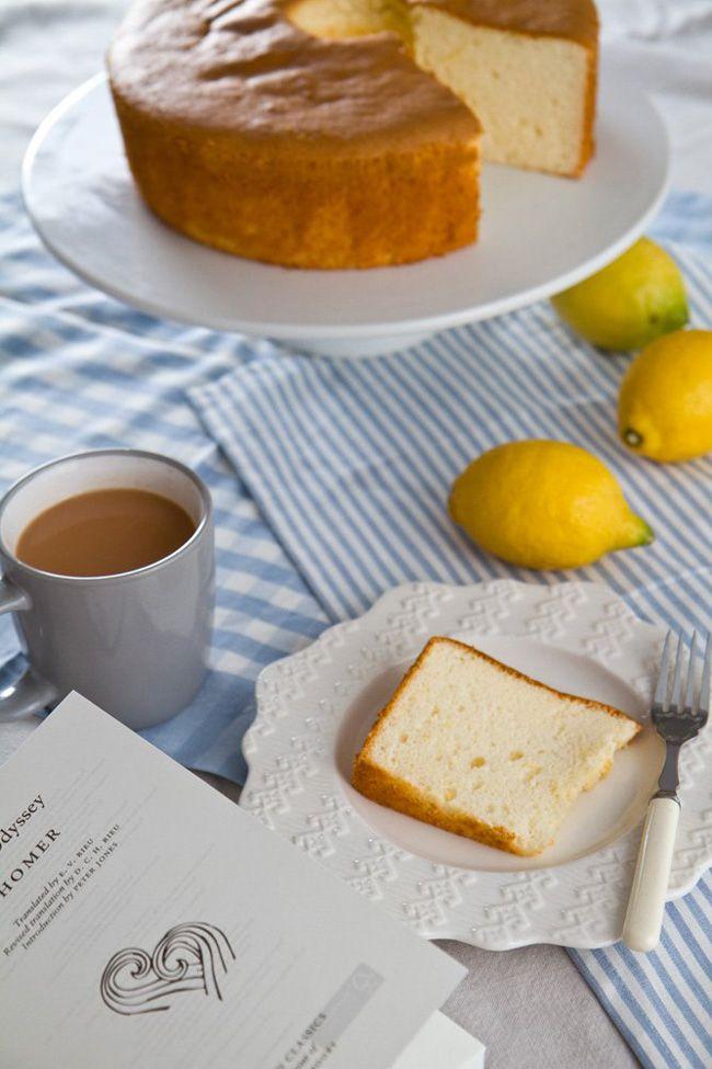 gluten-free honey lemon chiffon cake | Eli | Pinterest