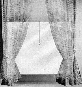 Cord Net Vorhänge   – Window