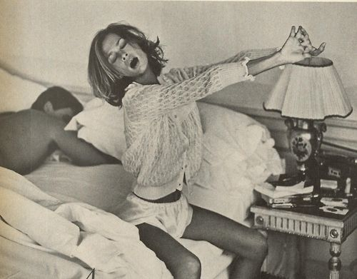 """Lauren Hutton.  """"In Venice. Endless Delight"""", Vogue US, August 1980 Photo by John Stember."""