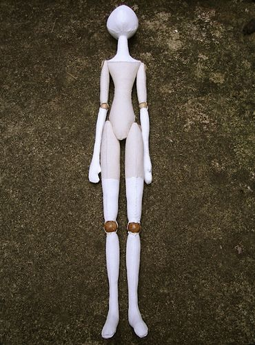 ball jointed cloth doll