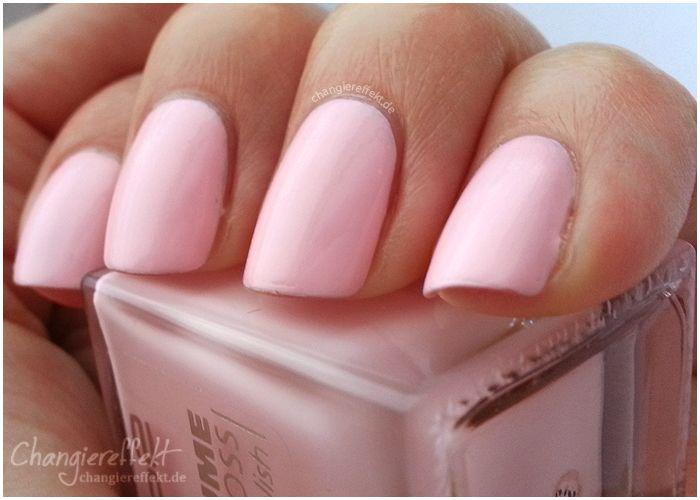 mein perfekter nagellack in rosa pastell von p2 beauty nageldesign selbermachen pinterest. Black Bedroom Furniture Sets. Home Design Ideas