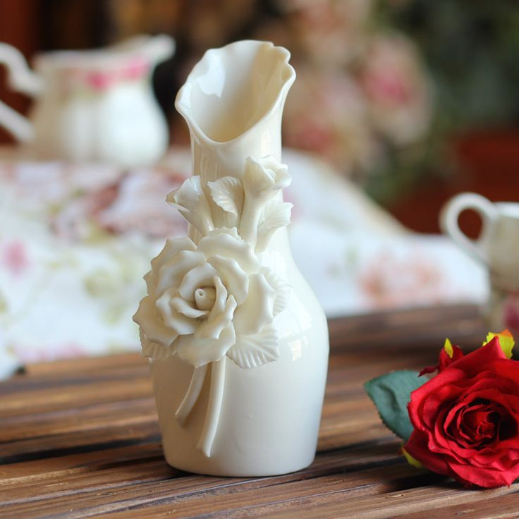Find More Vases Information about Modern Tabletop Ceramic Vases Bedroom Home Decoration Accessories Craft Ornaments Wholesale New Gifts Ideas Flower Porcelain ,High Quality vases sale,China accessories scarf Suppliers, Cheap accessories flower from Handicraftsman on Aliexpress.com