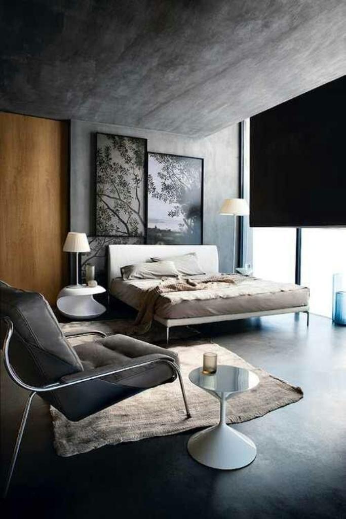 15 bold industrial bedroom design ideas rilane - Best Modern Bedroom Designs
