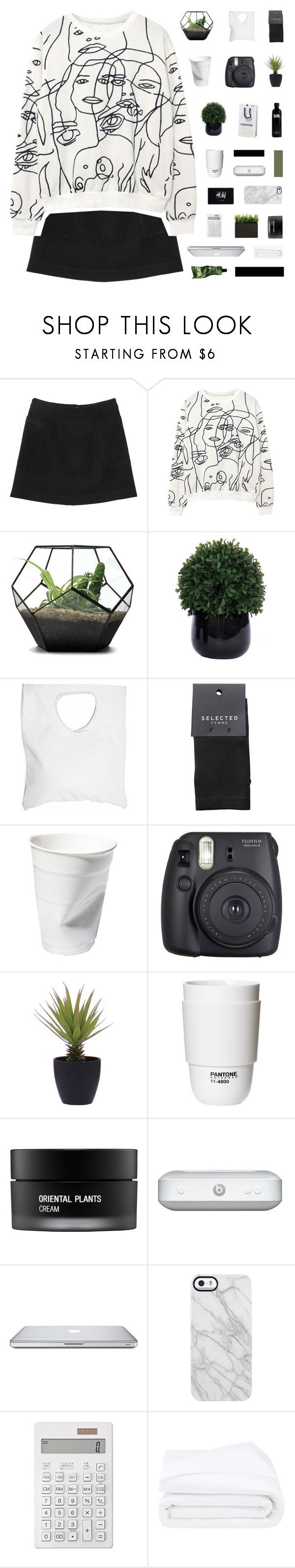 """""""my queen of hearts, meant to be my love"""" by when-you-listen ❤ liked on Polyvore featuring Monki, Lux-Art Silks, Jennifer Haley, SELECTED, Fuji, ROOM COPENHAGEN, H&M, Koh Gen Do, Uncommon and Muji"""