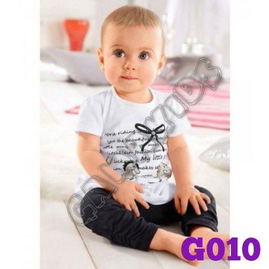 Cikicoco kids girlset (top+pant) (G010)    Size 80-100 (6 bulan-3 tahun)    IDR 70.000
