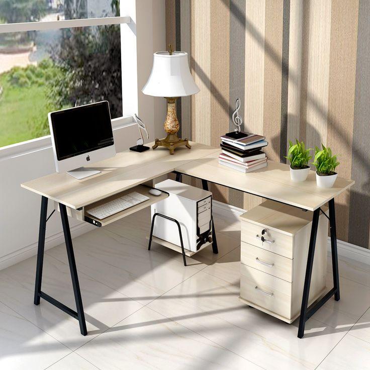 easy double resistant home computer desk desk home desktop computer desk corner desk modern minimalist - Computer Desk Ideas