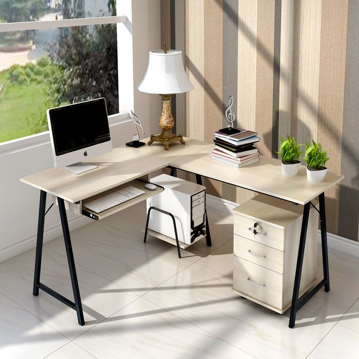Easy Double resistant home computer desk desk home desktop computer desk corner desk modern minimalist-in Computer Desks from Office & School Supplies on Aliexpress.com | Alibaba Group