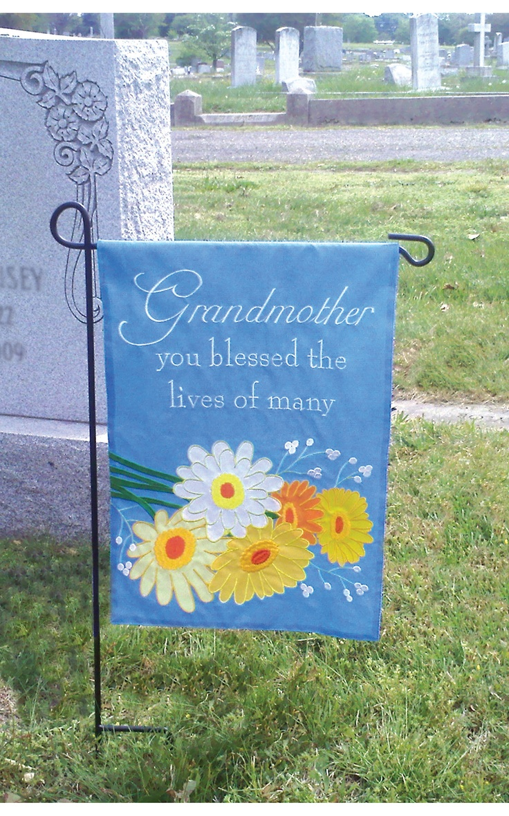 52 best cemetery decorations images on pinterest for Grave decorations ideas