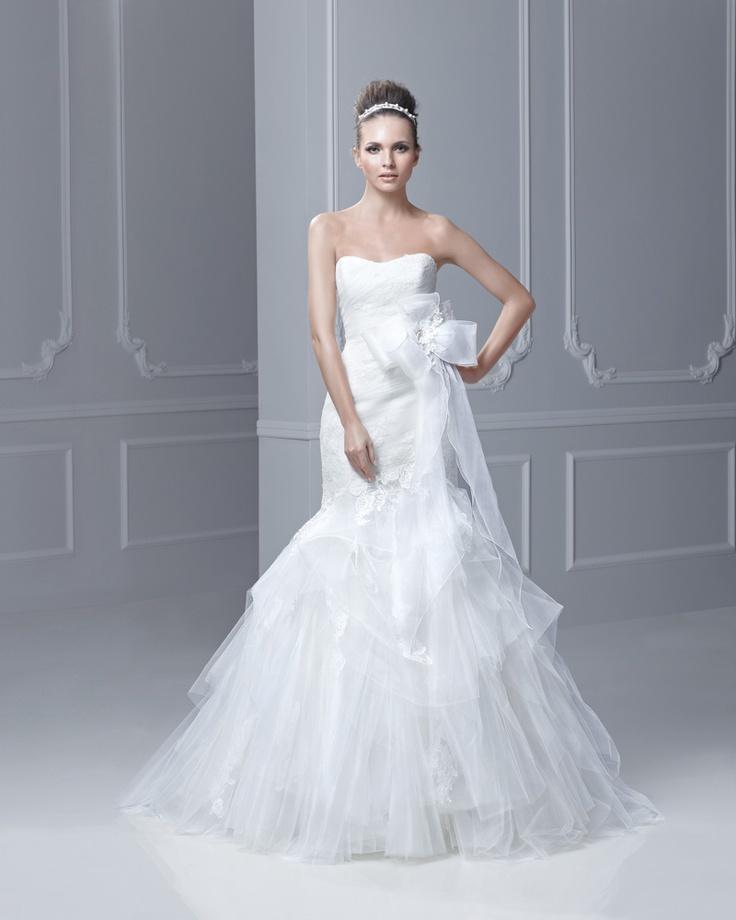 44 best Enzoani images on Pinterest | Short wedding gowns, Bridal ...