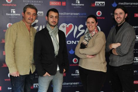 Band Firelight won Malta Eurovision Song Contest with their song 'Coming Home'!