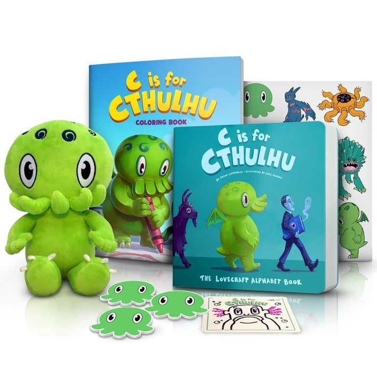 C is for Cthulhu Fun Pack Giveaway