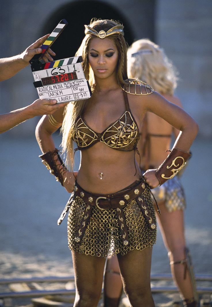 Beyonce Pepsi Superbowl Commercial - Gladiator  My Work -6369