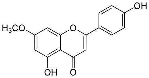 Skeletal formula of genkwanin