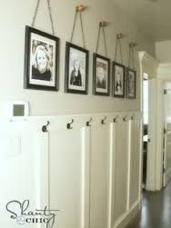 Image result for narrow hallway storage