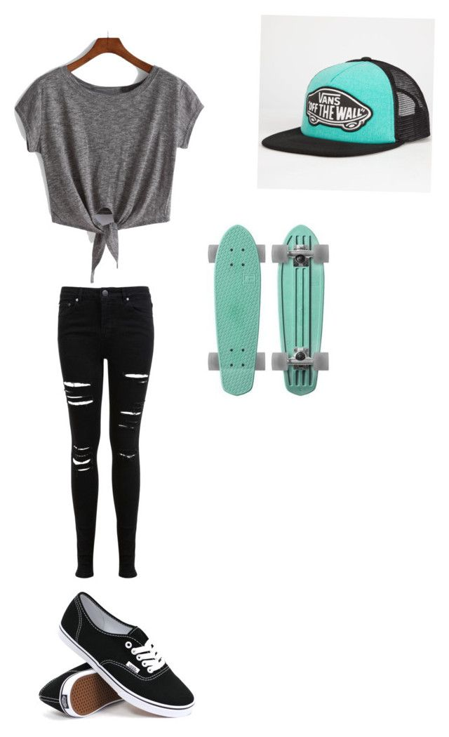 """""""Cute skater girl"""" by miavako on Polyvore"""