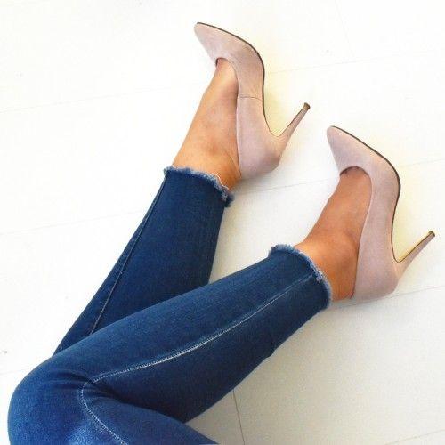 Fashionstatementsbyq.com highheels nude collection  #shoes #highheels #fashion #fashionblogger #blogger #heels #nude #fashionblog #ootd #denim #jeans