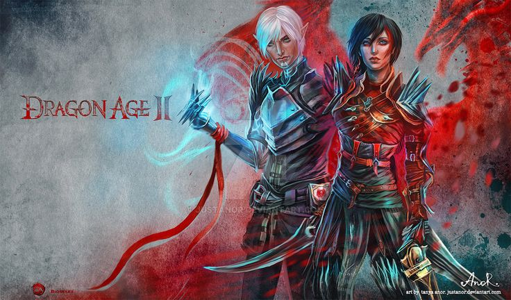 Dragon Age II - Fenris Hawke by JustAnoR on DeviantArt - okay, officially going my new wallpaper. This is gorgeous!