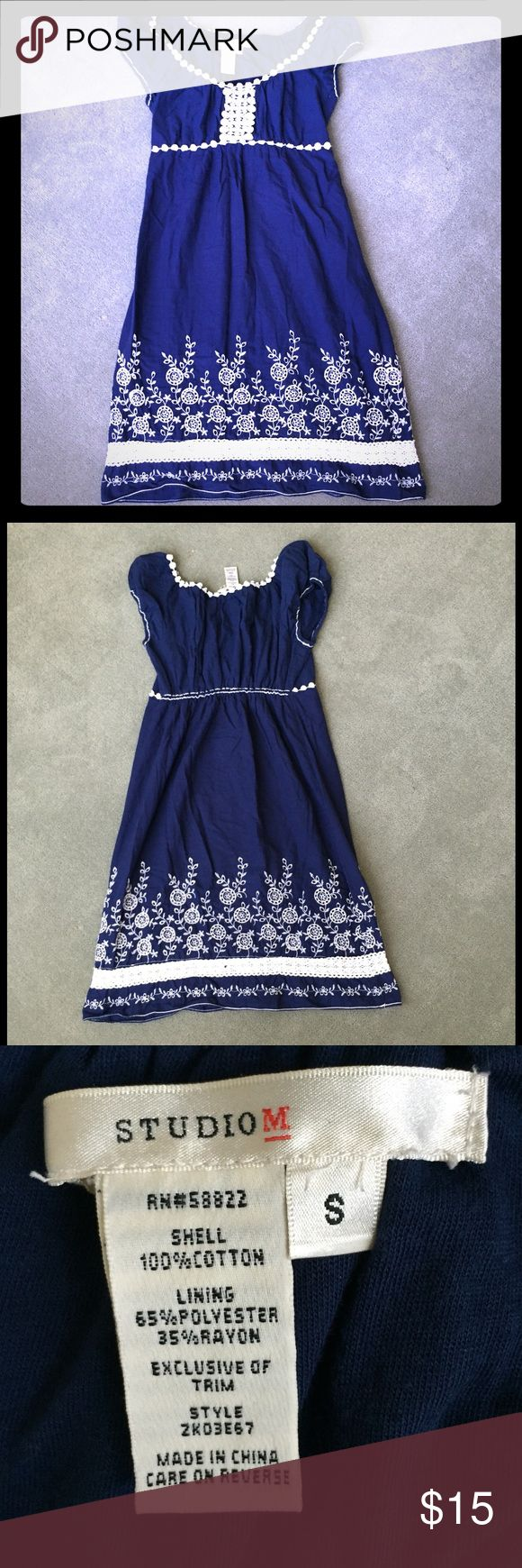 ✨Sale✨Studio M Summer Dress This dress is gorgeous. Flowy and so comfy. In great condition. Thanks for looking and feel free to ask me any questions😊 Studio M Dresses