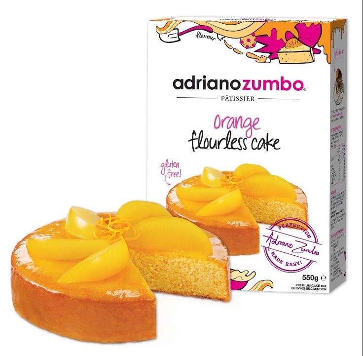 Adriano Zumbo Orange Flourless Cake