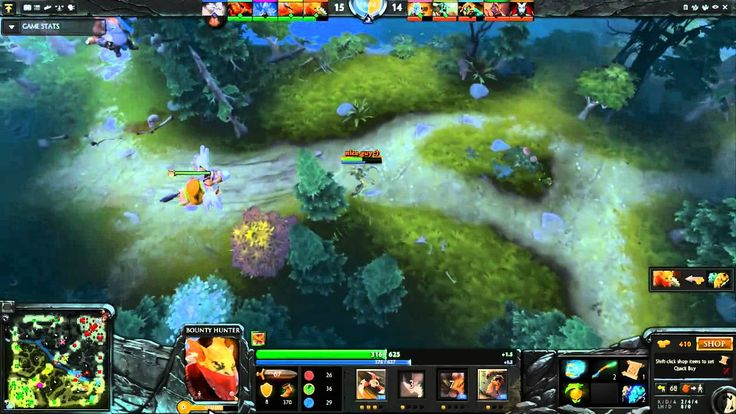 Dota2 Live Stream - Radiant Vs Dire (15.09.2015)