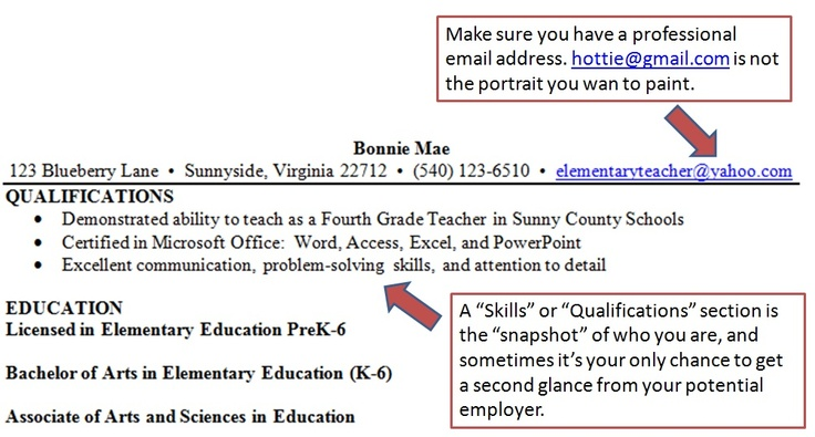 Charming Teacher Resume Suggestions