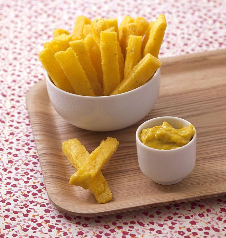 Frites de polenta - �d�lices : Recettes de cuisine faciles et originales !