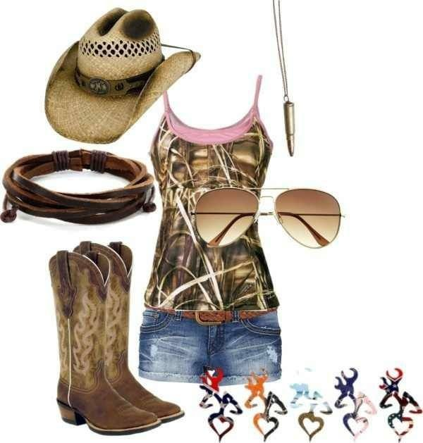 Summer Camo Country Outfit