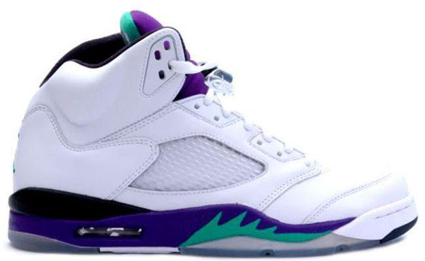 136027-108 Air Jordan Retro 5 Grape White/New Emerald-Grape-Ice Blue   $114   http://www.sneakerforsale2014.com/136027-108-air-jordan-retro-5-grape-white-new-emerald-grape-ice-blue-661.html