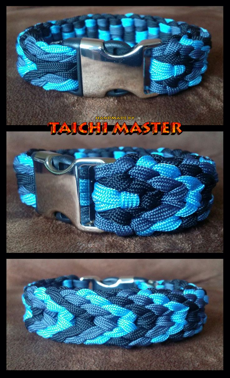 Plaited Chevron Sinnet Paracord Bracelet