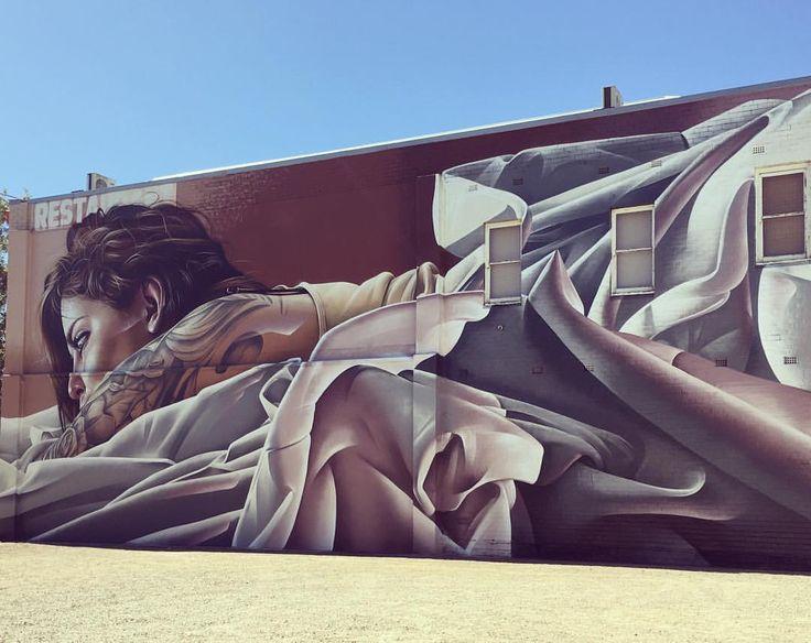 Smug in Benalla, Victoria, Australia. 2016 Wall to Wall Festival #walltowallfestival #benalla