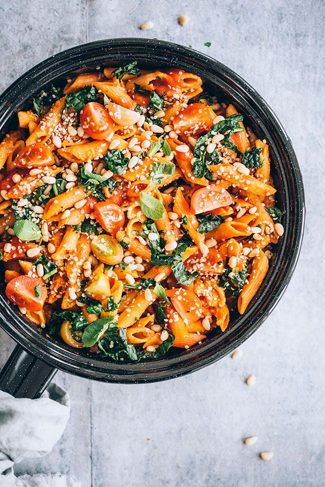 Lentil Pasta With Kale And Marinara Sauce Vegan And Gluten Free Recipe Lentil Pasta Lentil Pasta Recipe Healthy Pasta Recipes