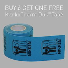 This KenkoTherm Duk Tape now comes in black..