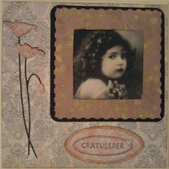 Kort i vintage-stil