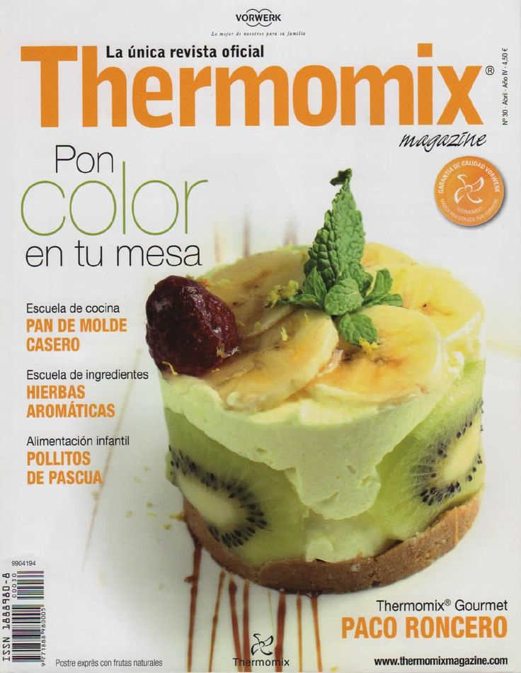 ISSUU - Revista thermomix nº30 pon color en tu mesa de argent