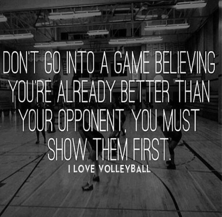 This goes for any sport!