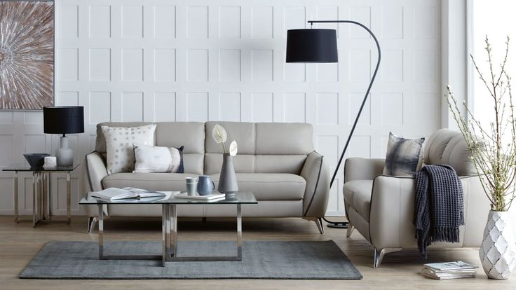 Home :: Furniture :: Lounges :: Leather Lounges :: Reeva 3 Seater + 2 Seater Leather Sofa Package