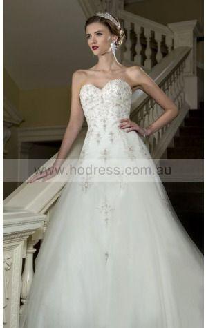Lace-up Princess Natural Sweetheart Wedding Dresses gucf1004--Hodress