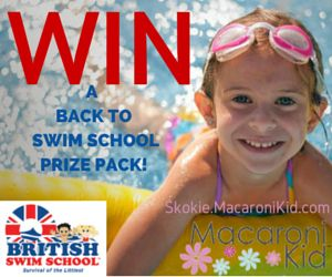 GIVEAWAY: Enter to win a Prize Pack from British Swim School Chicago | Macaroni Kid