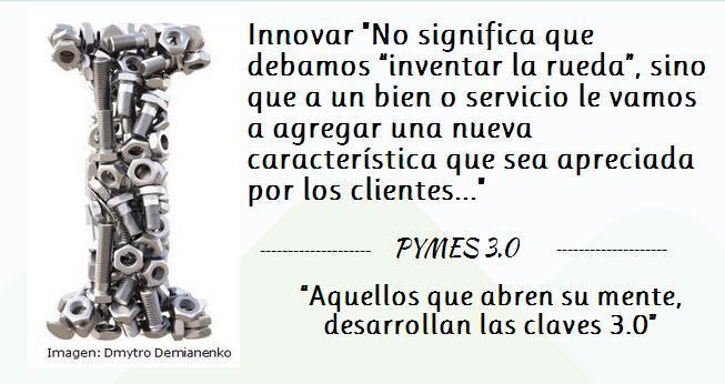 #Innovar definición, pymes 3.0