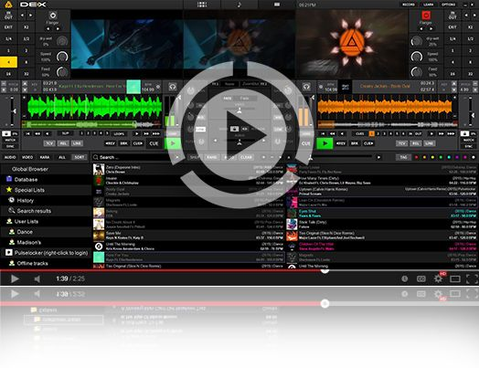 DJ Software for MAC and Windows. DEX 3 is the complete DJ mixing software solution. DEX 3 makes it easy to mix everything. Quick and Easy Download.
